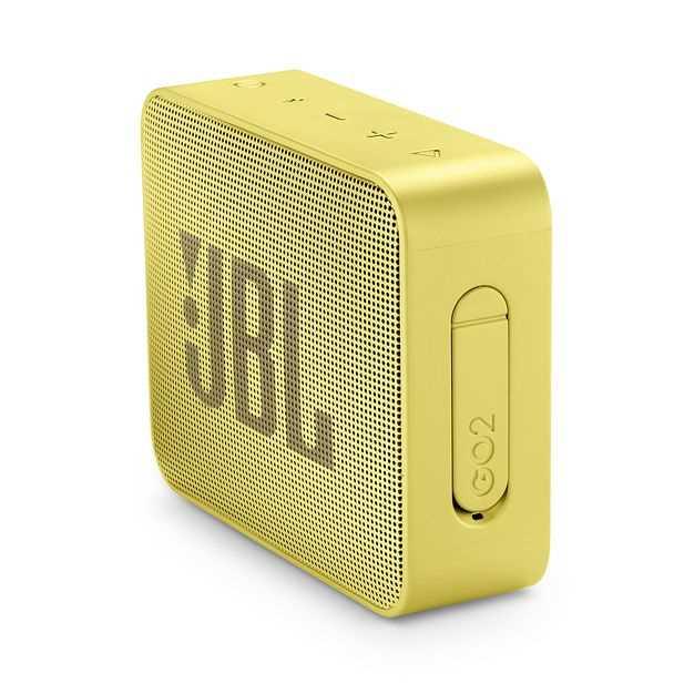 רמקול נייד JBL GO 2 - צהוב - תמונה 2