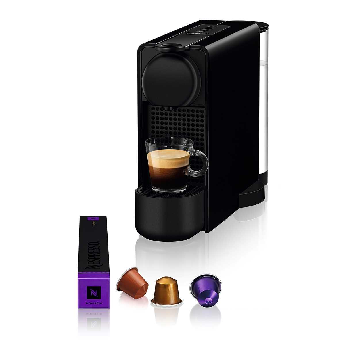 מכונת קפה NESPRESSO Essenza Plus C45 - צבע שחור - תמונה 1