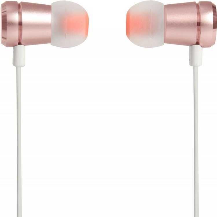 אוזניות חוטיות JBL T290 - זהב אדום - תמונה 2