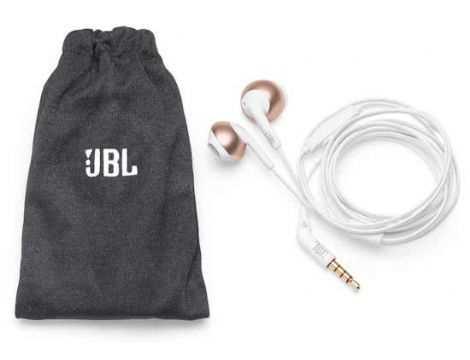 אוזניות חוטיות JBL T205 - אדום - תמונה 3