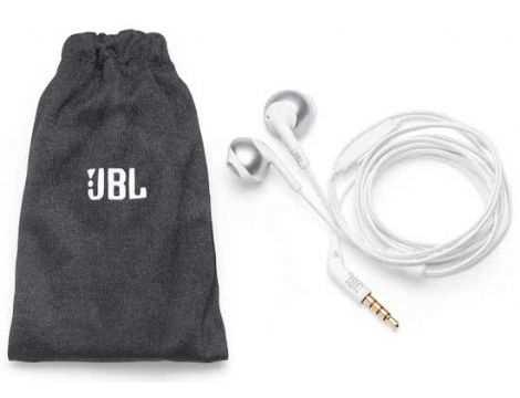 אוזניות חוטיות JBL T205 - כרום - תמונה 2