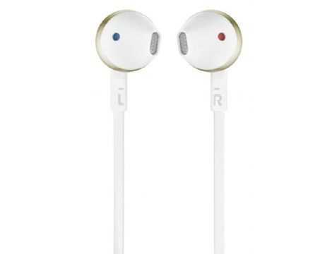 אוזניות חוטיות JBL T205 - זהב - תמונה 5