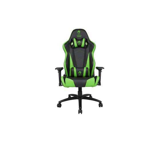 כיסא גיימרים Dragon Chair Zeus XL ירוק - תמונה 2