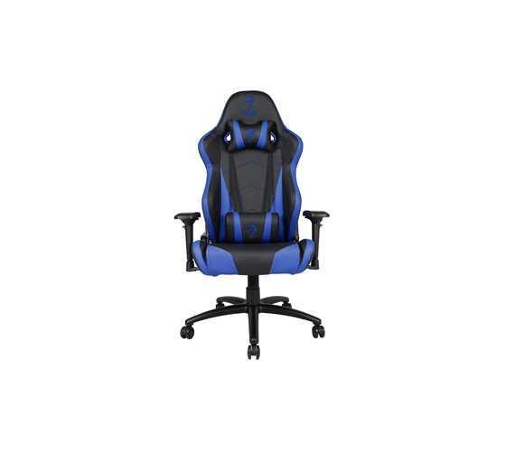 כיסא גיימרים Dragon Chair Zeus XL כחול - תמונה 2