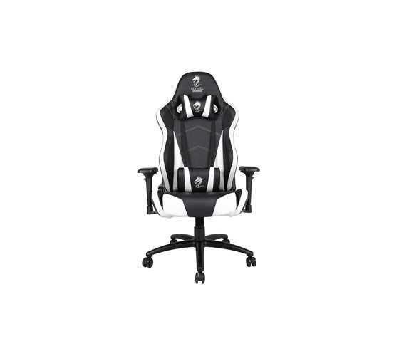 כיסא גיימרים Dragon Chair Zeus XL לבן - תמונה 2