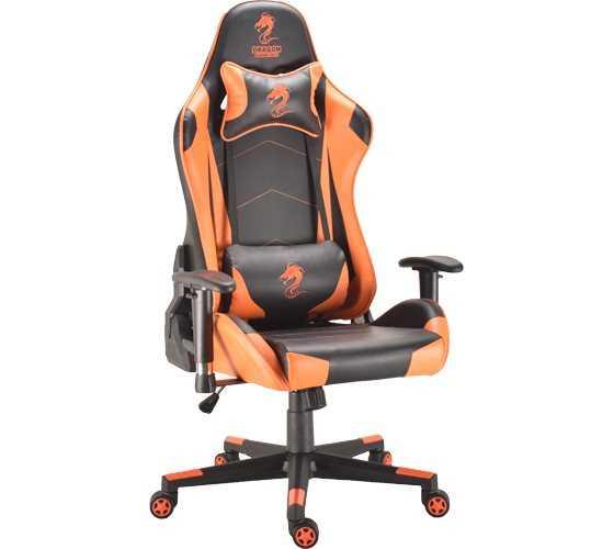 כסא גיימינג Dragon Ggladitor כתום - תמונה 2