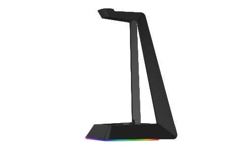 מעמד לאוזניות עם תאורת RGB דגם Dragon GPDRA-HSS - תמונה 1