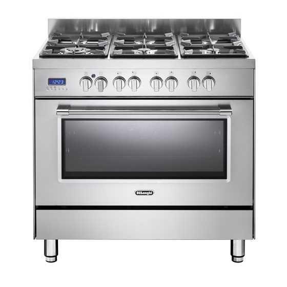 תנור משולב כיריים Delonghi NDS981 דה לונגי