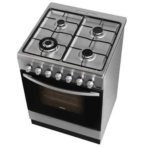 תנור משולב כיריים Zanussi ZCK67201XA זנוסי - תמונה 2