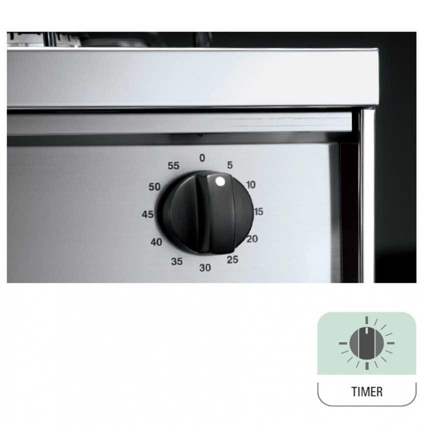 תנור משולב כיריים Lofra PUD76MFE/CI-2M - תמונה 3