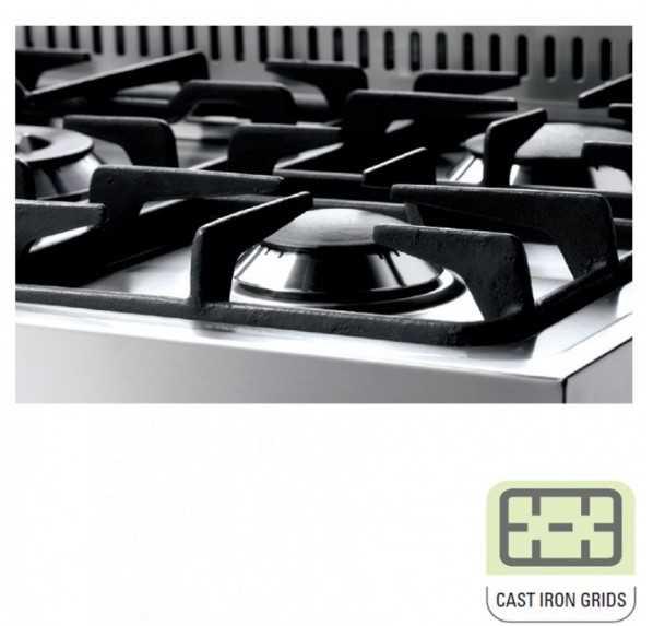 תנור משולב כיריים Lofra RRD96MFTE/CI - תמונה 6