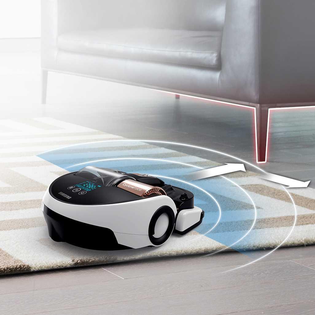 שואב אבק רובוטי Samsung Powerbot VR9000 SR20H9050U סמסונג - תמונה 2