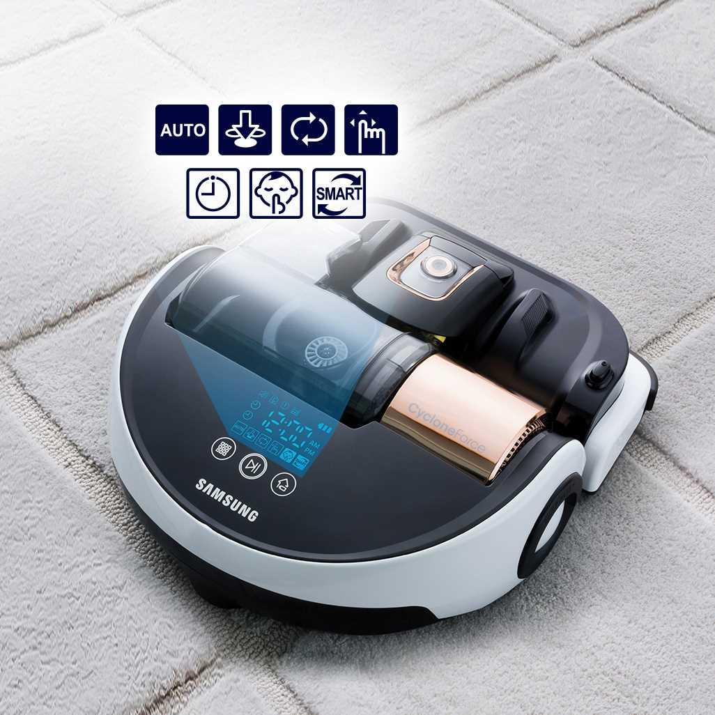 שואב אבק רובוטי Samsung Powerbot VR9000 SR20H9050U סמסונג - תמונה 3