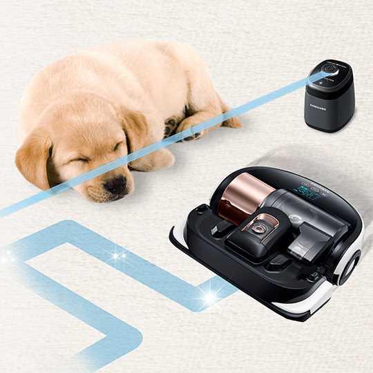 שואב אבק רובוטי Samsung Powerbot VR9000 SR20H9050U סמסונג - תמונה 4