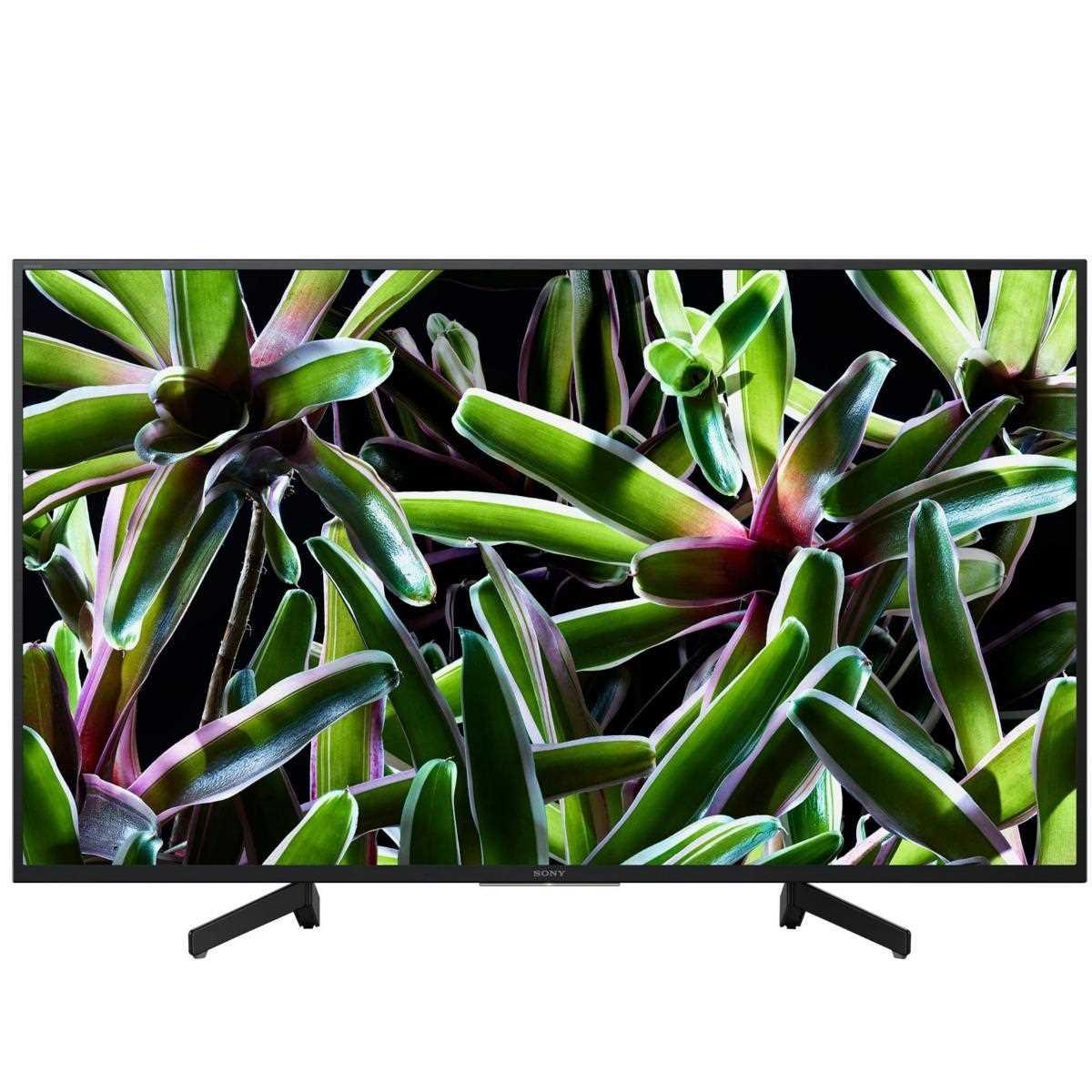טלוויזיה Sony KD49XG7096BAEP4K סוני - תמונה 1