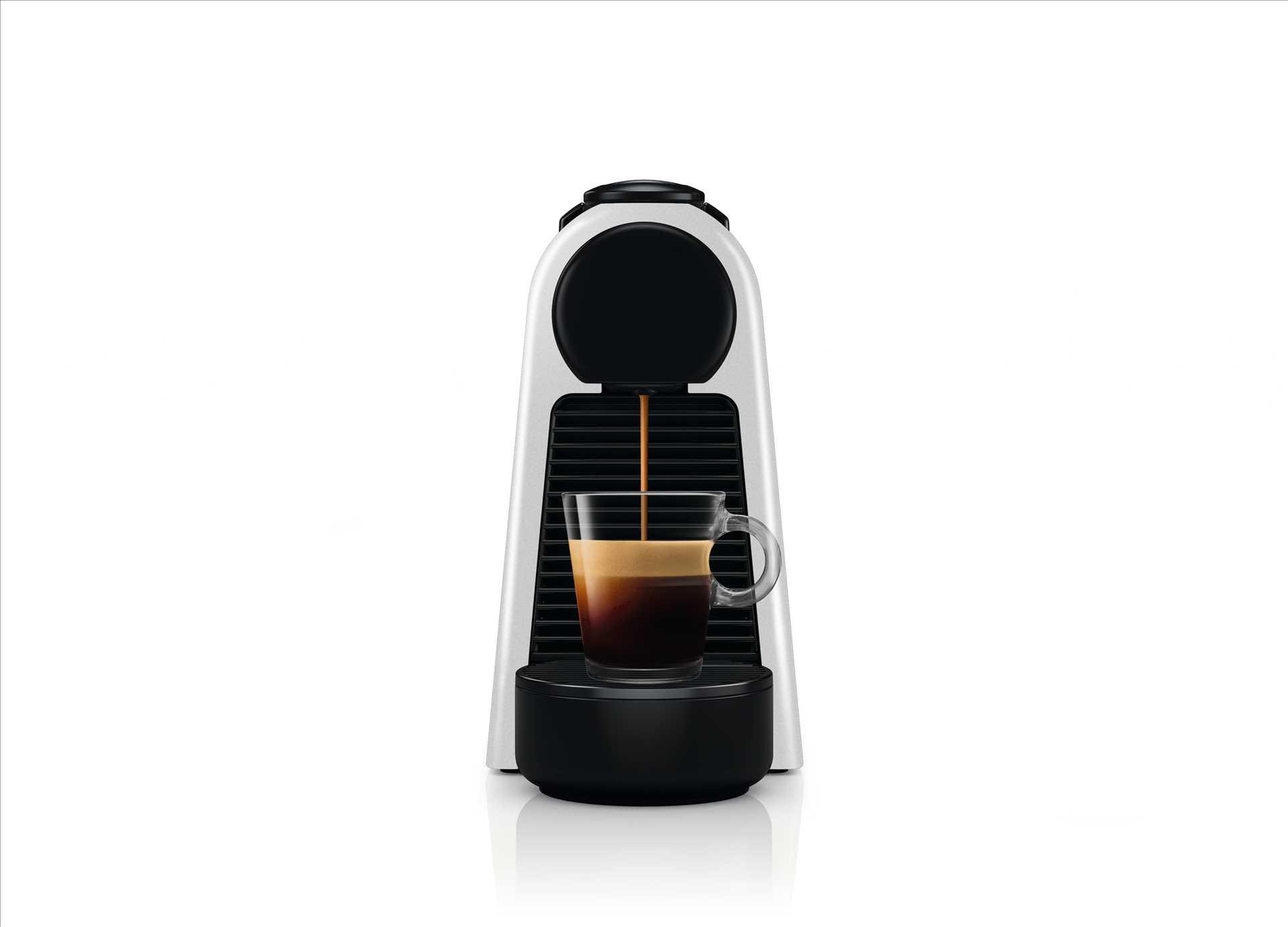 מכונת אספרסו Nespresso Essenza Mini D30 נספרסו בגוון כסוף מט (מהדורה מוגבלת) - תמונה 3