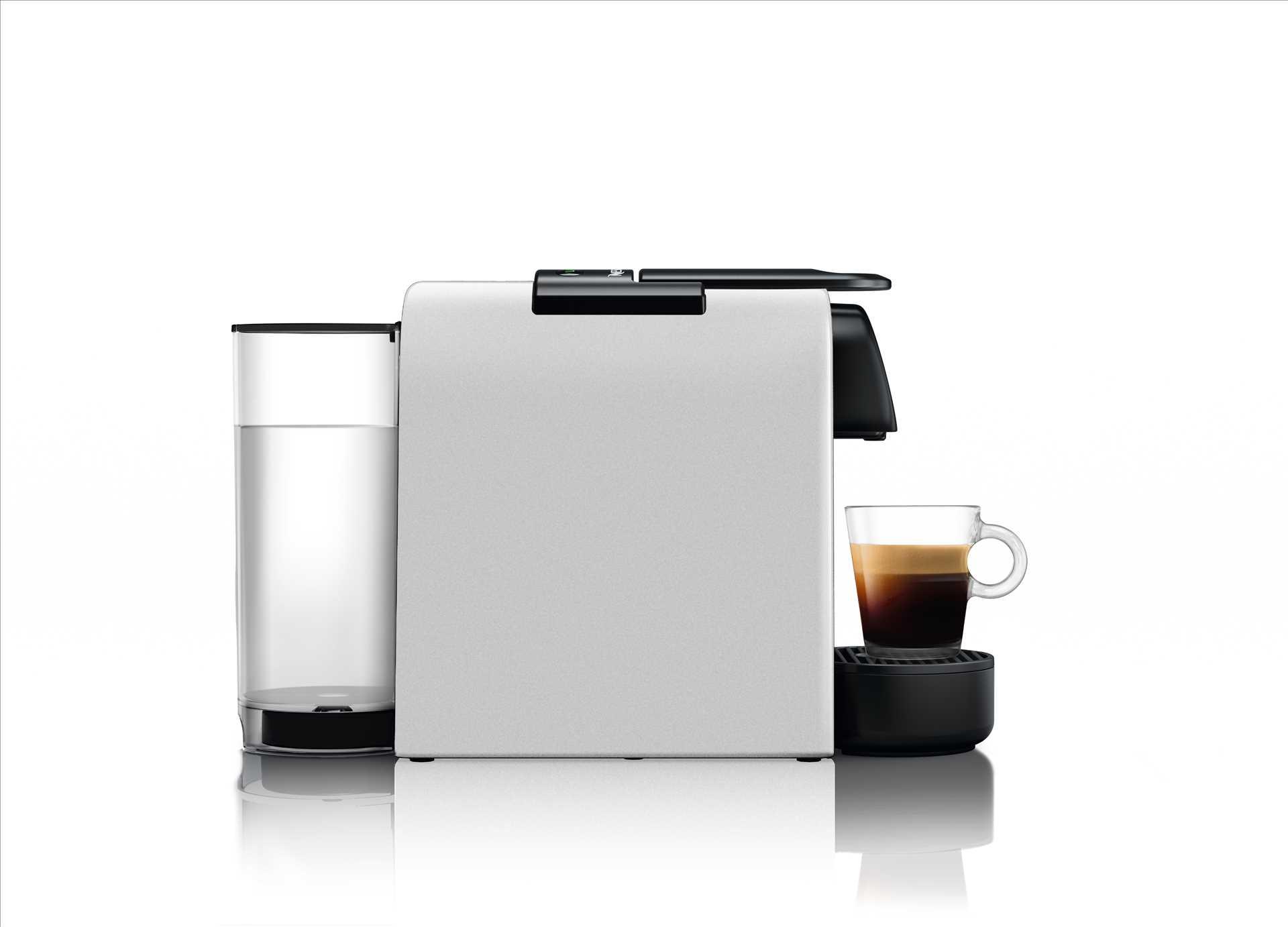 מכונת אספרסו Nespresso Essenza Mini D30 נספרסו בגוון כסוף מט (מהדורה מוגבלת) כולל מקציף חלב ארוצ'ינו - תמונה 2