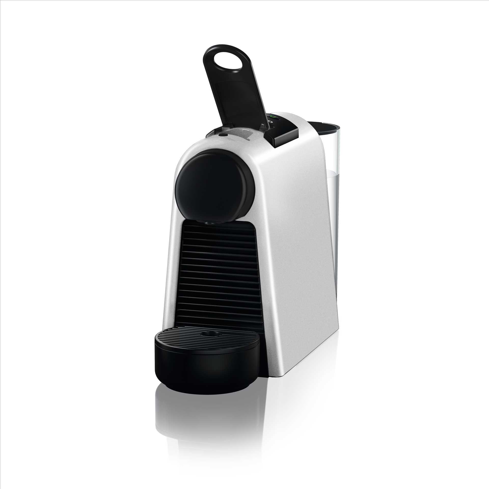מכונת אספרסו Nespresso Essenza Mini D30 נספרסו בגוון כסוף מט (מהדורה מוגבלת) כולל מקציף חלב ארוצ'ינו - תמונה 5