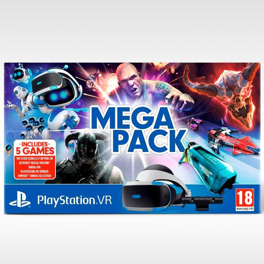 משקפי מציאות מדומה Sony PlayStation VR Mega Pack סוני - תמונה 2