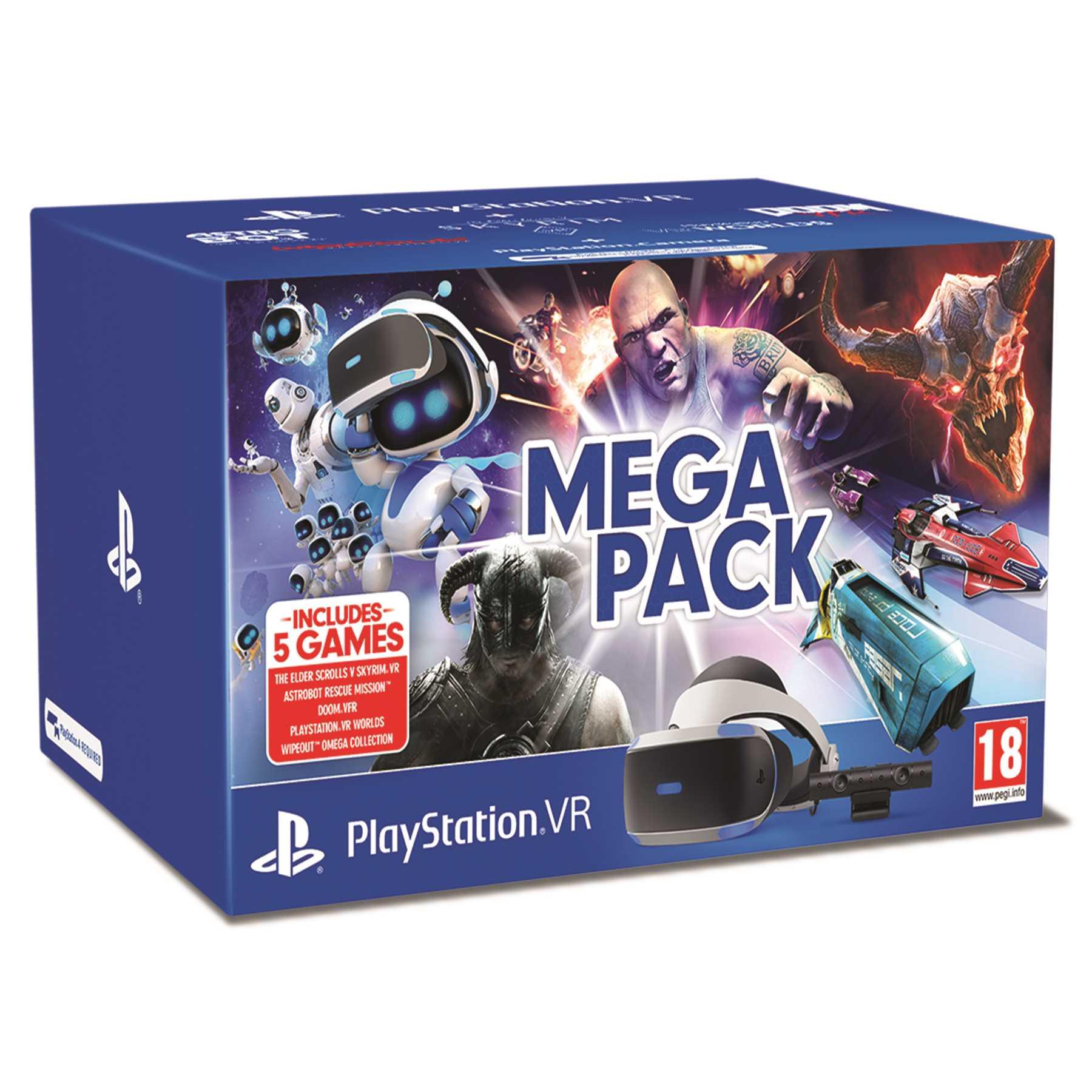 משקפי מציאות מדומה Sony PlayStation VR Mega Pack סוני - תמונה 1