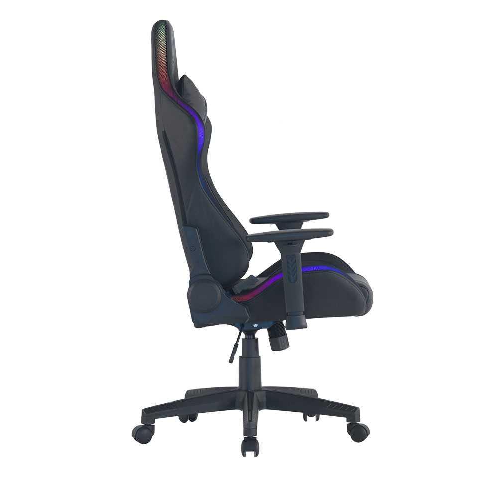 כיסא גיימינג Dragon Space Gaming Chair עם תאורה RGB - תמונה 2