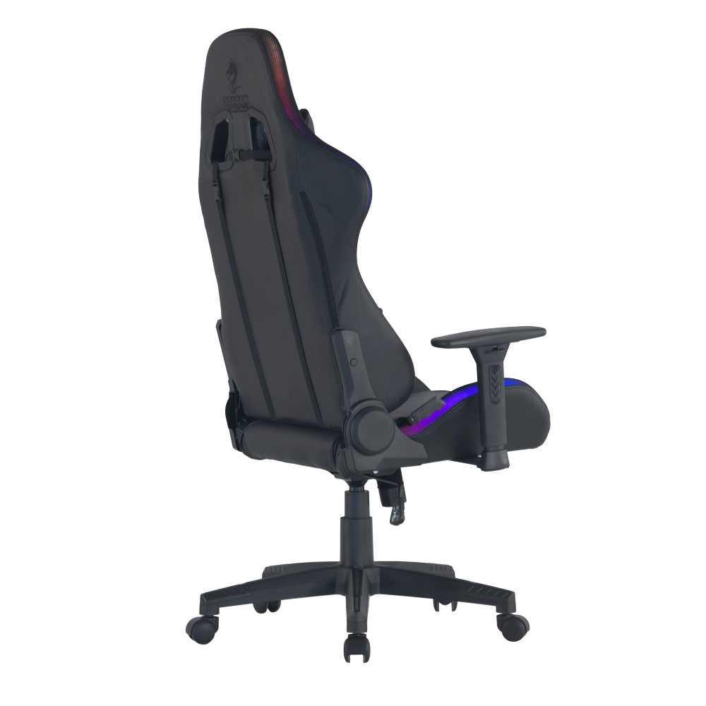 כיסא גיימינג Dragon Space Gaming Chair עם תאורה RGB - תמונה 5