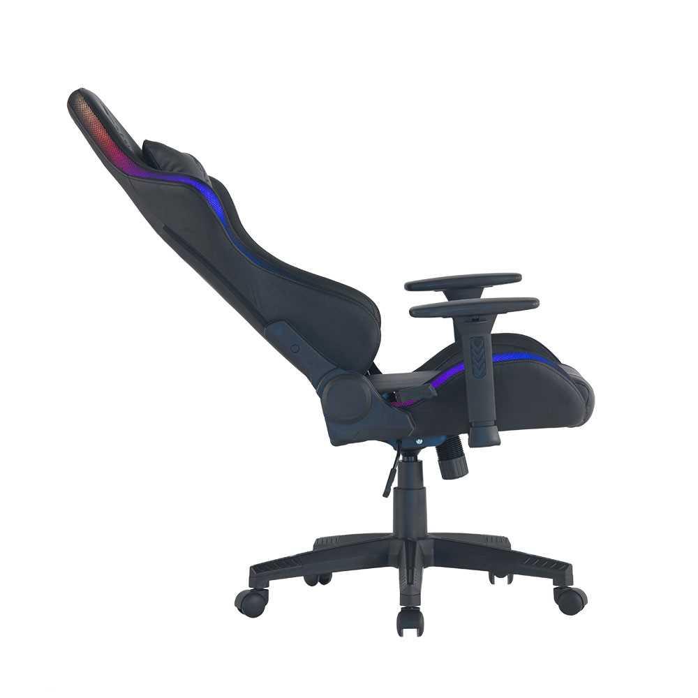 כיסא גיימינג Dragon Space Gaming Chair עם תאורה RGB - תמונה 6