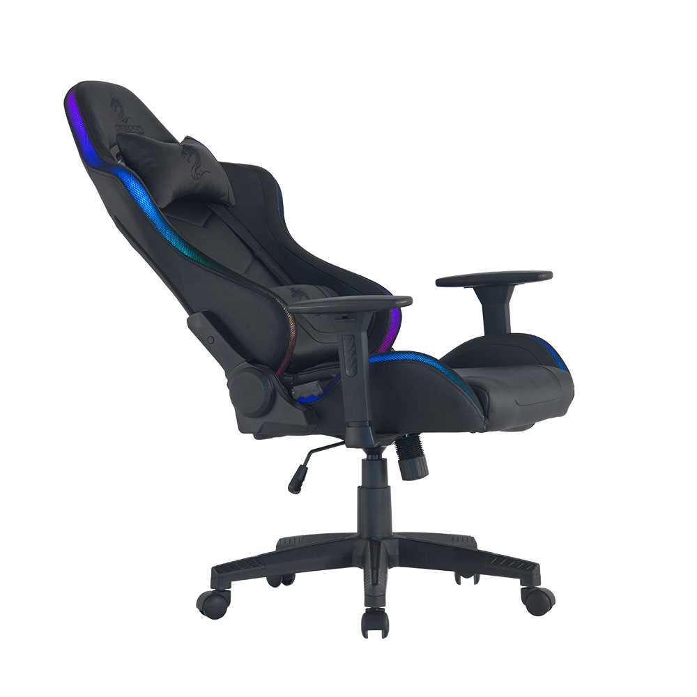כיסא גיימינג Dragon Space Gaming Chair עם תאורה RGB - תמונה 7