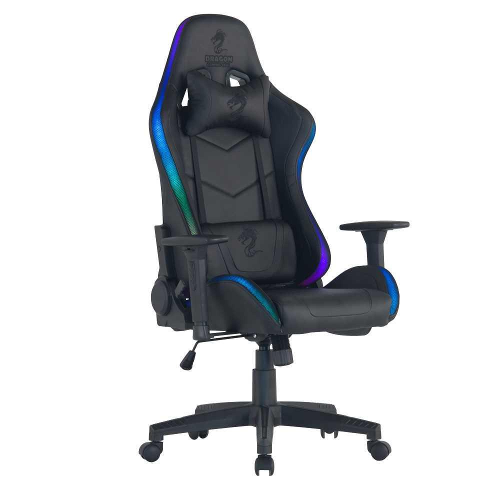 כיסא גיימינג Dragon Space Gaming Chair עם תאורה RGB - תמונה 12