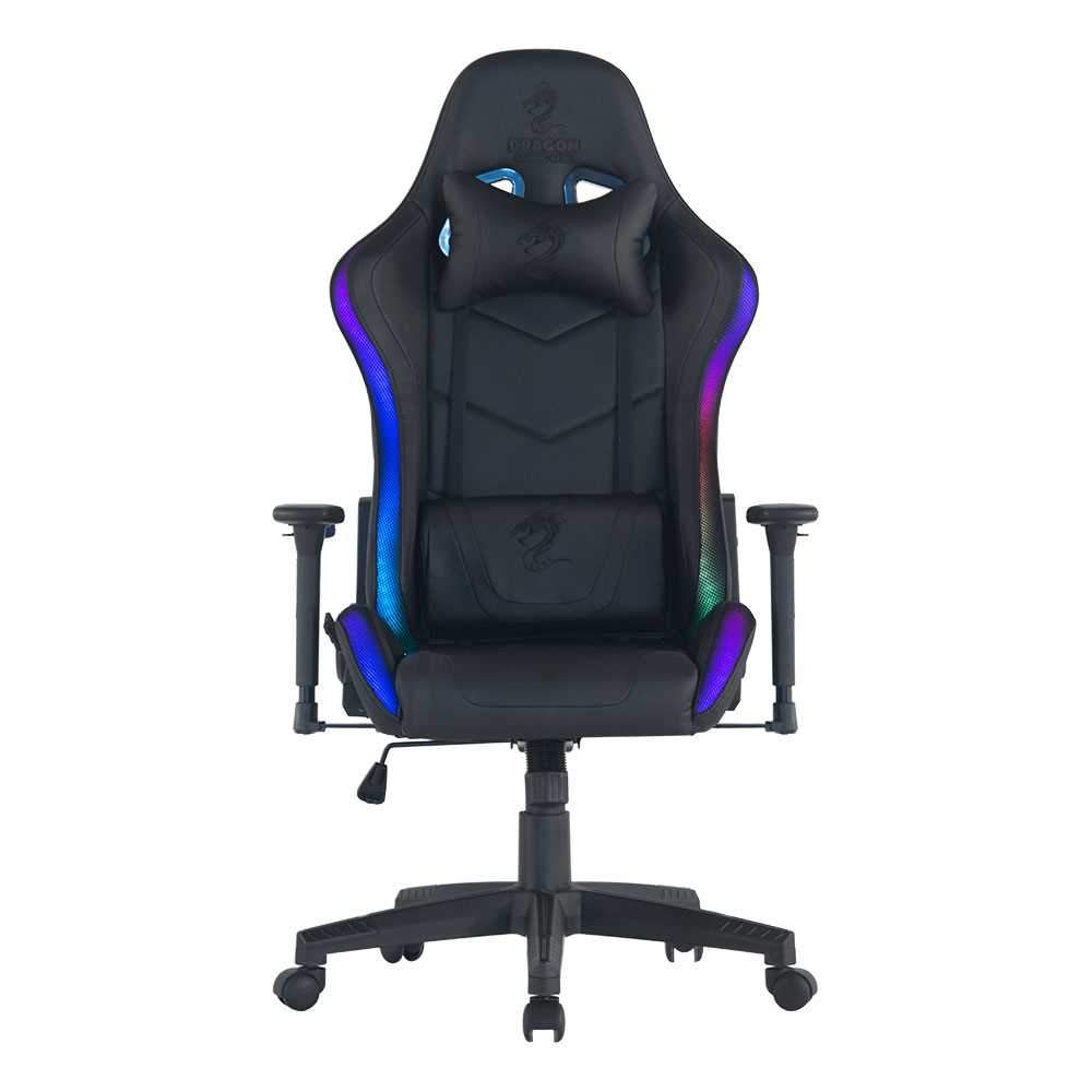 כיסא גיימינג Dragon Space Gaming Chair עם תאורה RGB - תמונה 13