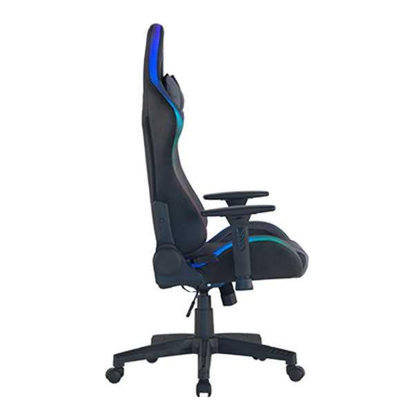 כיסא גיימינג Dragon Space Gaming Chair עם תאורה RGB - צבע אפור - תמונה 8