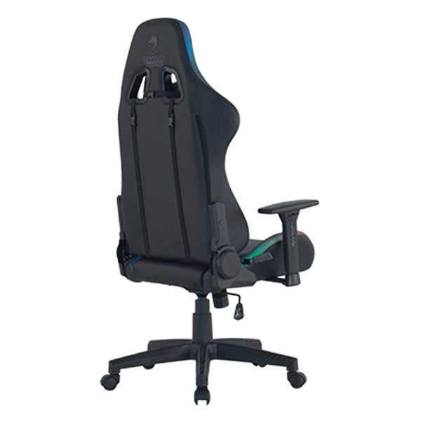 כיסא גיימינג Dragon Space Gaming Chair עם תאורה RGB - צבע אפור - תמונה 9