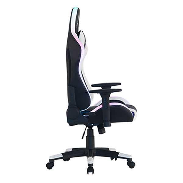 כיסא גיימינג Dragon Space Gaming Chair עם תאורה RGB - צבע לבן - תמונה 8
