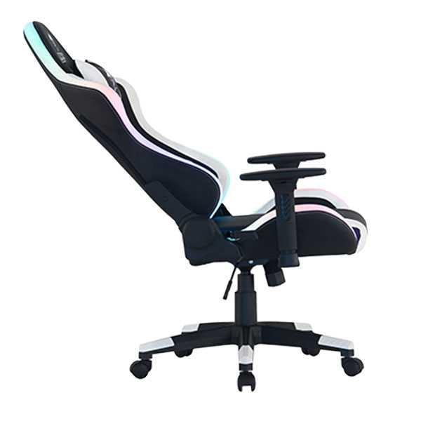 כיסא גיימינג Dragon Space Gaming Chair עם תאורה RGB - צבע לבן - תמונה 10