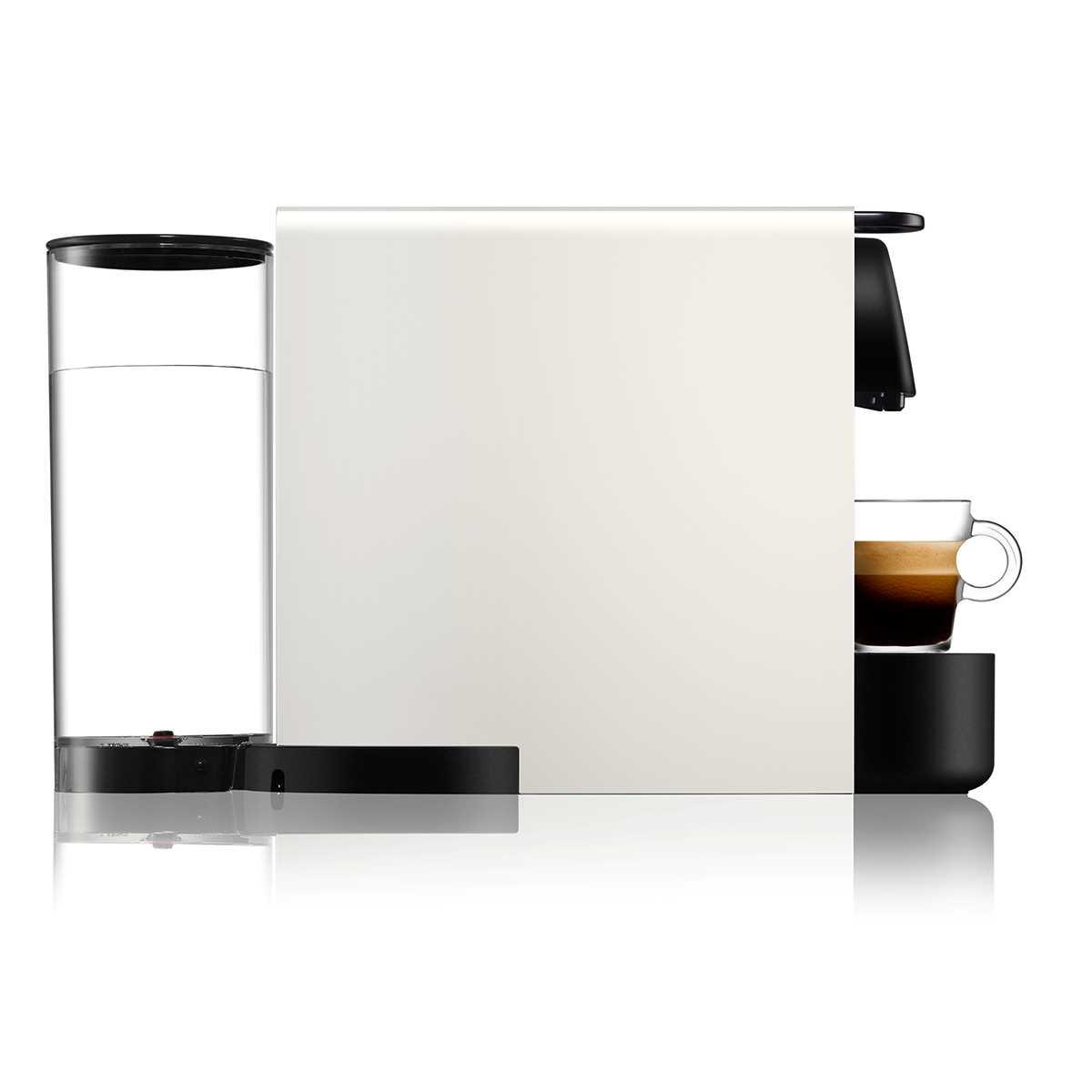 מכונת קפה NESPRESSO Essenza Plus C45 עם מקציף חלב - צבע לבן - תמונה 3