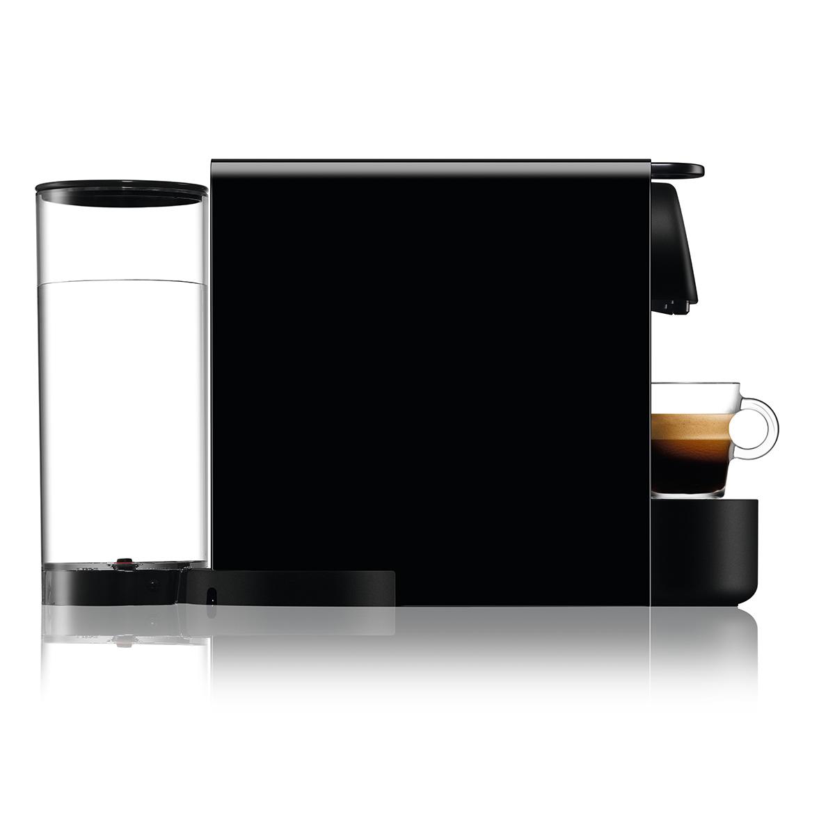 מכונת קפה NESPRESSO Essenza Plus C45 עם מקציף חלב - צבע שחור - תמונה 3