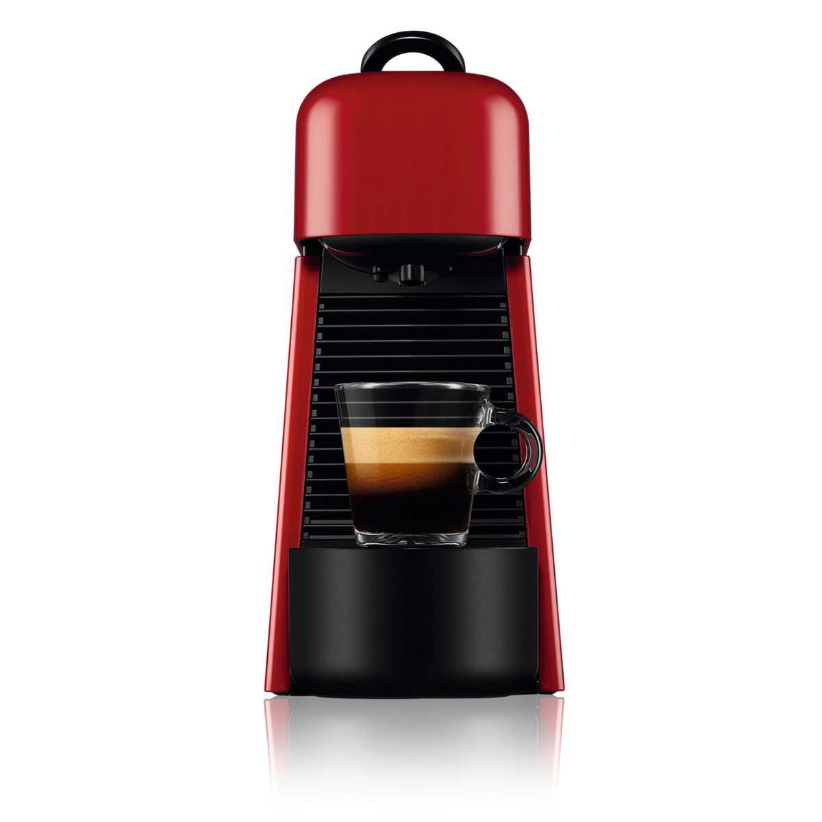 מכונת אספרסו Nespresso Essenza D45 Plus נספרסו כולל מקצף חלב - צבע אדום - תמונה 3