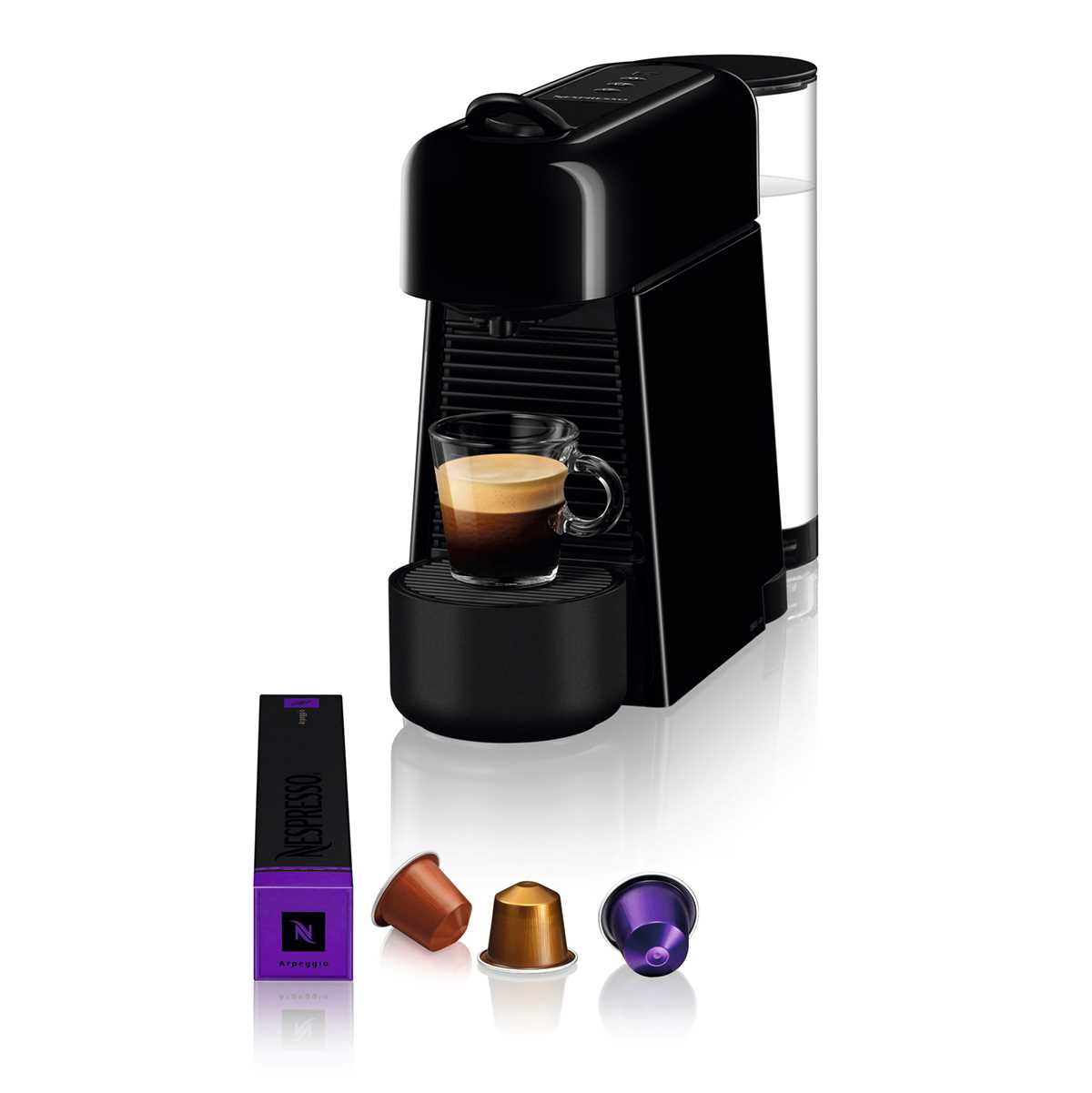 מכונת אספרסו Nespresso Essenza D45 Plus נספרסו כולל מקצף חלב - תמונה 2