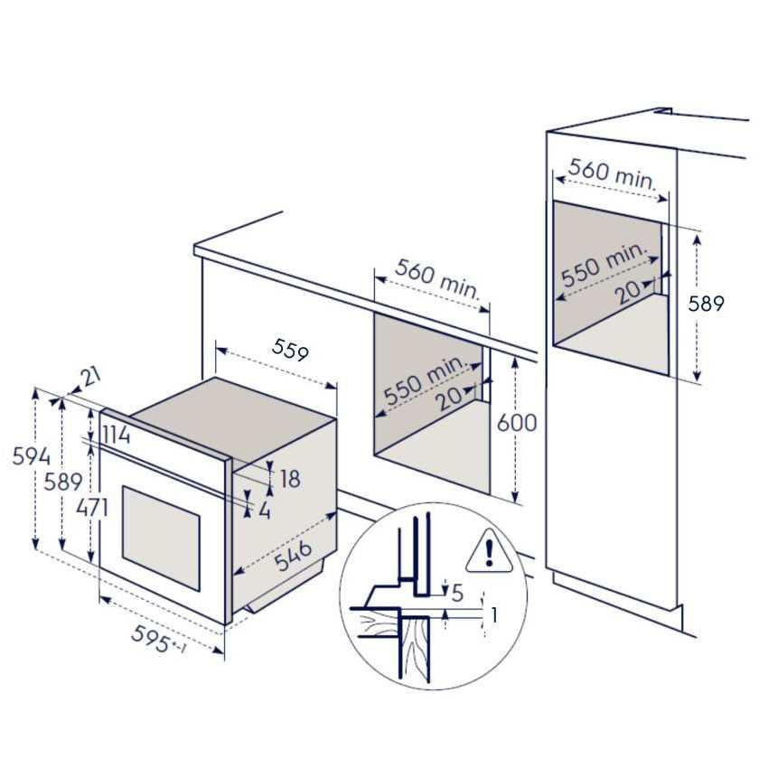 תנור בנוי Electrolux EOH6421X אלקטרולוקס - תמונה 3