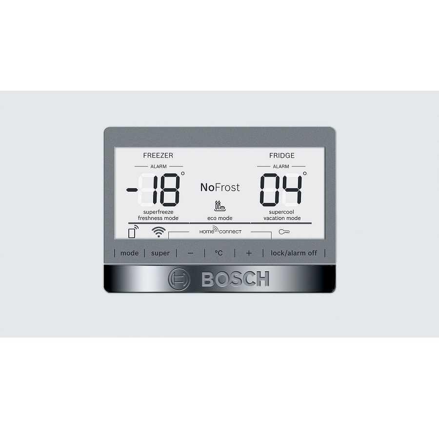 מקרר מקפיא תחתון Bosch KGN86AW31L 617 ליטר בוש - תמונה 3