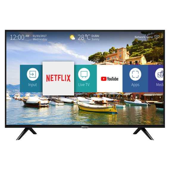 טלוויזיה Hisense 43B6000IL Full HD 43 אינטש הייסנס - תמונה 1