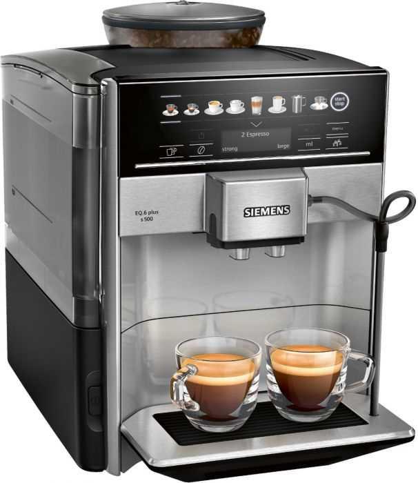 מכונת אספרסו Siemens TE655203RW EQ.6 plus s500 סימנס - תמונה 1