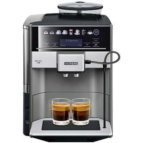 מכונת אספרסו Siemens TE655203RW EQ.6 plus s500 סימנס - תמונה 2