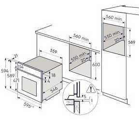תנור בנוי Electrolux EOH6427X אלקטרולוקס - תמונה 2