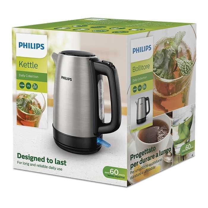 קומקום חשמלי Philips HD9350/90 1.7 ליטר פיליפס - תמונה 4