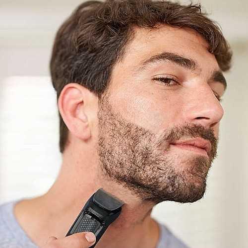 ערכה לטיפוח שיער הפנים Philips MG3710 פיליפס - תמונה 5