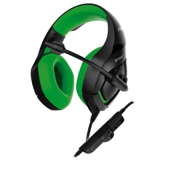 אוזניות גיימינג SPARKFOX K1 ירוק - תמונה 2