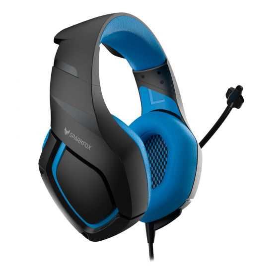 אוזניות גיימינג SPARKFOX K1 כחול - תמונה 1