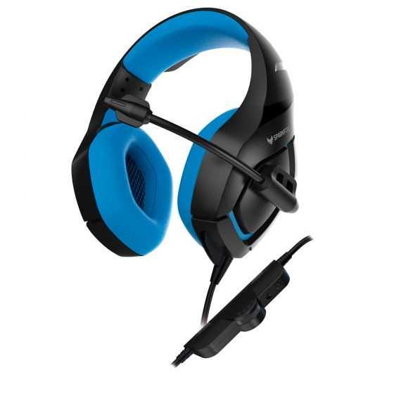 אוזניות גיימינג SPARKFOX K1 כחול - תמונה 2
