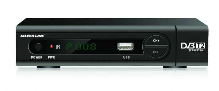 ממיר לשידור עידן+ DVBT2 HD מבית Silver Line - תמונה 1